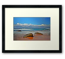 Seaside Gems Framed Print
