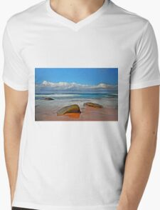 Seaside Gems Mens V-Neck T-Shirt