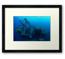 The Colossus Framed Print
