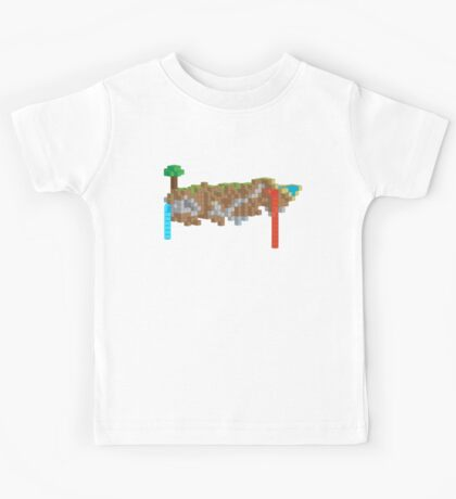 Minecraft Illustration Kids Tee