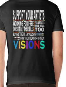 Support Your Artists Tee-Shirt Mens V-Neck T-Shirt