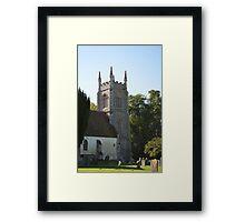 13th Century Church Framed Print