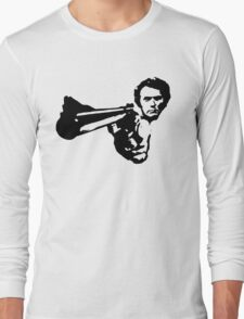 a dirty harry t-shirt Long Sleeve T-Shirt