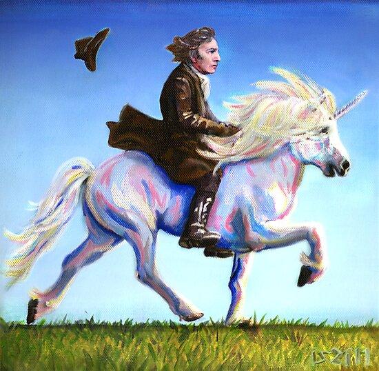 Alan Rickman Rides Again by iszi