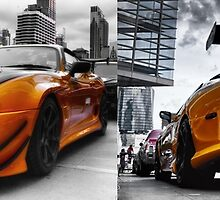 Toyata Supra - Pimped street car racer HDR by benbdprod