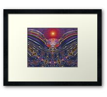 Spacedevil Framed Print