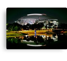 Cowboys Stadium by night Canvas Print
