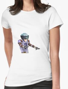 Honey Badger 7 Womens Fitted T-Shirt
