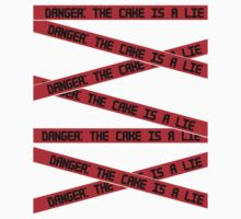 Danger: The Cake is a Lie by DannySunshine