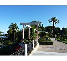 Gardens Of The Ephrussi de Rothschild Villa Photographic Print