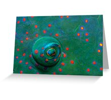 Green Eye Greeting Card