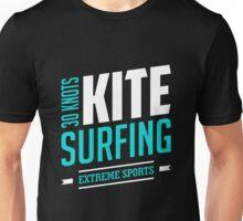 30 Knots Kitesurfing Art14c Unisex T-Shirt
