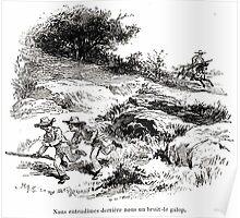 Achille Sirouy Mark Twain Les Aventures de Huck Huckleberry Finn illustration p123 Poster