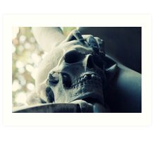 One tooth missing Art Print