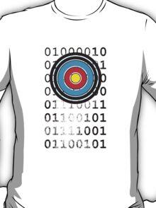 Bullseye archery target design T-Shirt
