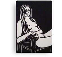 Madam Me_Study of the Nude Figure 1 Canvas Print
