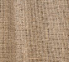 The canvas of burlap texture Sticker