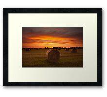 Dornock Sunrise Framed Print