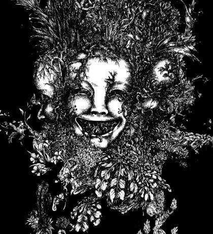 3 Faced Joker Sticker