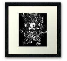 3 Faced Joker Framed Print