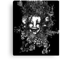 3 Faced Joker Canvas Print