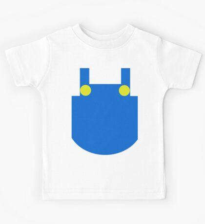 Mario Dungaree Print Kids Tee