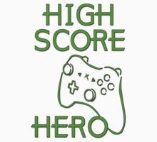 High Score Hero XBox by gleekgirl