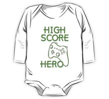 High Score Hero XBox One Piece - Long Sleeve