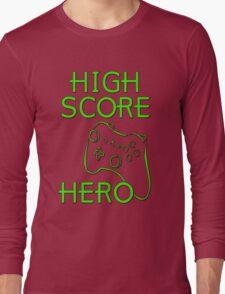 High Score Hero XBox Long Sleeve T-Shirt