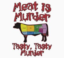 Meat is Murder.  Tasty, Tasty Murder. by gleekgirl