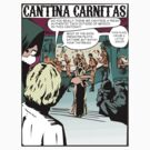 Cantina Carnitas Comic strip scene by Siegeworks .