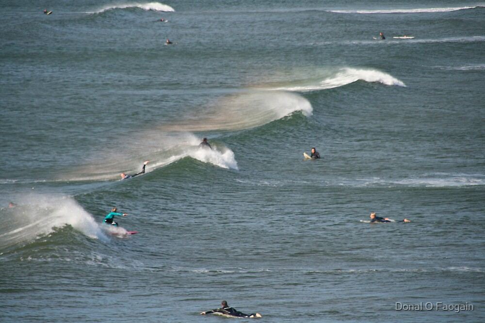 September swell by Donal O Faogain