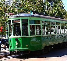 Number 1818 - Milan Streetcar in San Francisco by fototaker