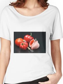 Adam And Eve's Cookbook  Women's Relaxed Fit T-Shirt