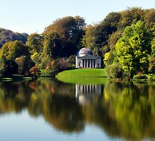 Stourhead Reflections ~ Wiltshire by Susie Peek