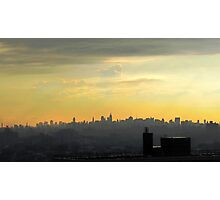Rooftop after the rain... New York City  Photographic Print