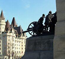 War Memorial - Ottawa, Ontario, Canada by vette