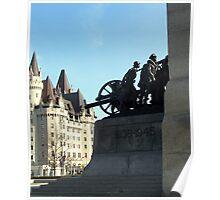 War Memorial - Ottawa, Ontario, Canada Poster