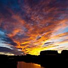 Salem South River Sunset by Steve Borichevsky
