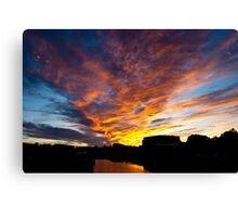 Salem South River Sunset Canvas Print