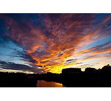 Salem South River Sunset Photographic Print