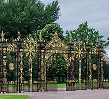 Gates & Fence to EATON HALL by AnnDixon