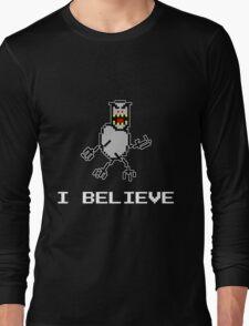 I Believe SkiFree Dark Long Sleeve T-Shirt
