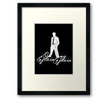 O Captain, My Captain Framed Print