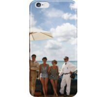 Bluebird V on Daytona Beach iPhone Case/Skin