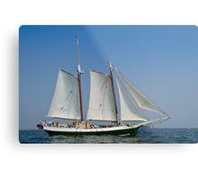 Schooner Liberty Clipper off Eastern Point Metal Print