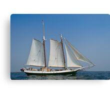 Schooner Liberty Clipper off Eastern Point Canvas Print