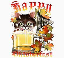 Happy Oktoberfest Beer Kitty Long Sleeve T-Shirt