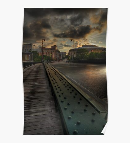 State Street Bridge, Milwaukee Poster