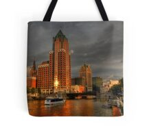 Milwaukee Riverboat Tote Bag